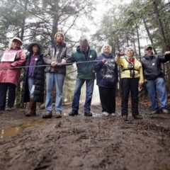 Charges against pipeline protesters reduced
