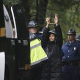 Charges reduced for pipeline protesters