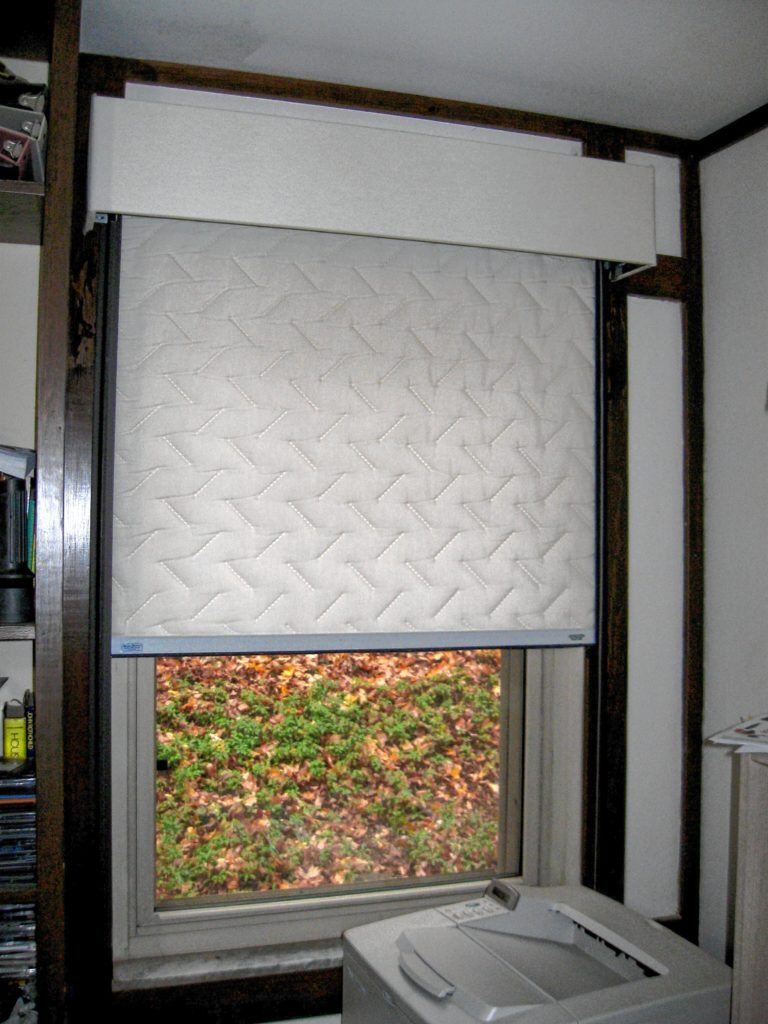 Insulating window treatments going green for Insulate glass