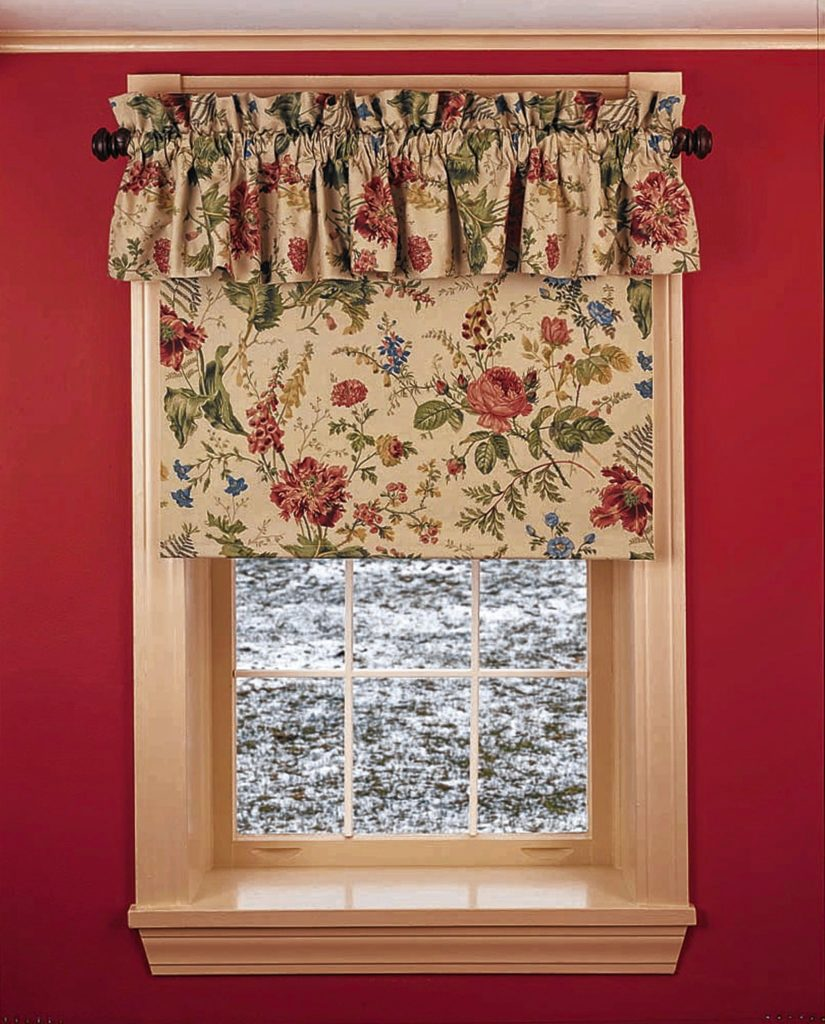 This is a completed insulated Roman shade made from a kit. You add your own cover fabric to match your decor. A magnetic seal is sewn into the edge of the insulating shade material.