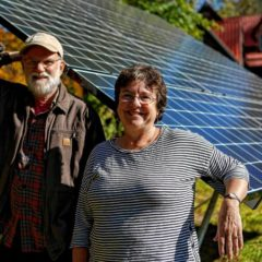Leverett couple goes solar in a big, 12-panel way