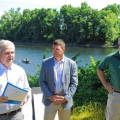 Study to determine source of excess nitrogen in Conn. River