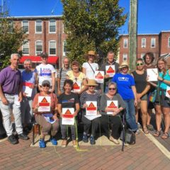 Activists mark gas leaks in Easthampton, citing environmental and safety concerns
