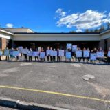 Easthampton middle schoolers take anti-idling campaign citywide