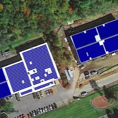PV Squared installing Greenfield's largest roof-mounted solar project