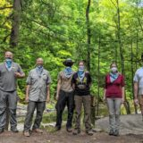 Freemasons, Friends of the Pukcommeagon get dirty for clean waterways
